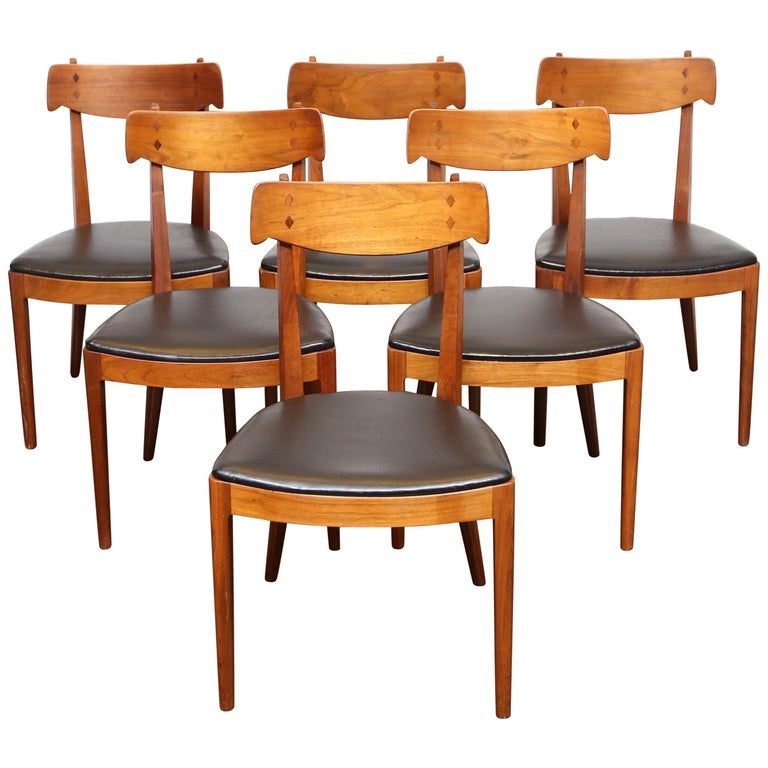 Set Of 6 Dining Chairs By Kipp Stewart For Drexel