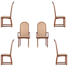 Set of 6 Dining chairs by Milo Baughman