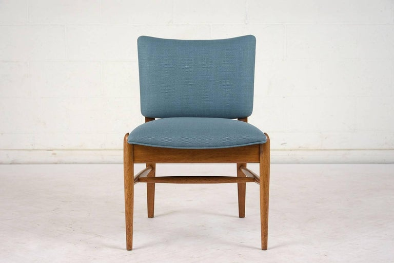 American Set of Six Dining Room Chairs by John Keal for Brown Saltman For Sale