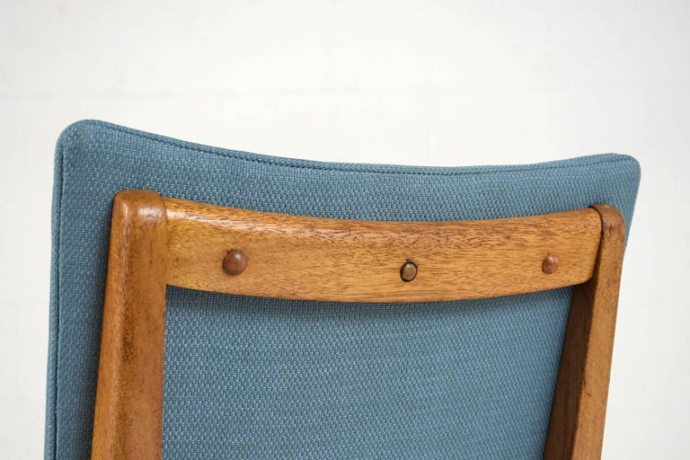 Set of Six Dining Room Chairs by John Keal for Brown Saltman In Good Condition For Sale In Los Angeles, CA