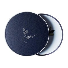 Box Gift of 6 Dinner Plates by the French Chef Alain Passard