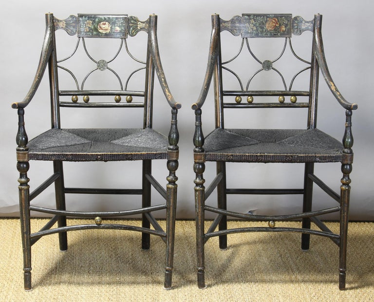 American Classical Set of 6 Early 19th Century American