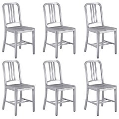 Set of 6 Emeco Navy Chairs