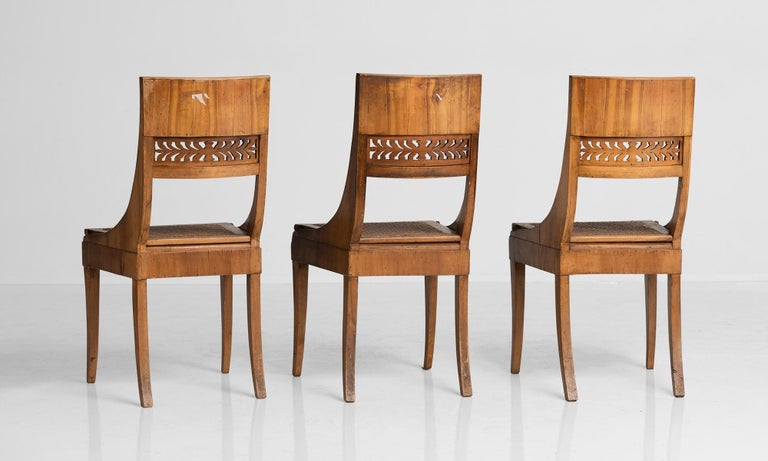 Italian Set of '6' Empire Chairs For Sale
