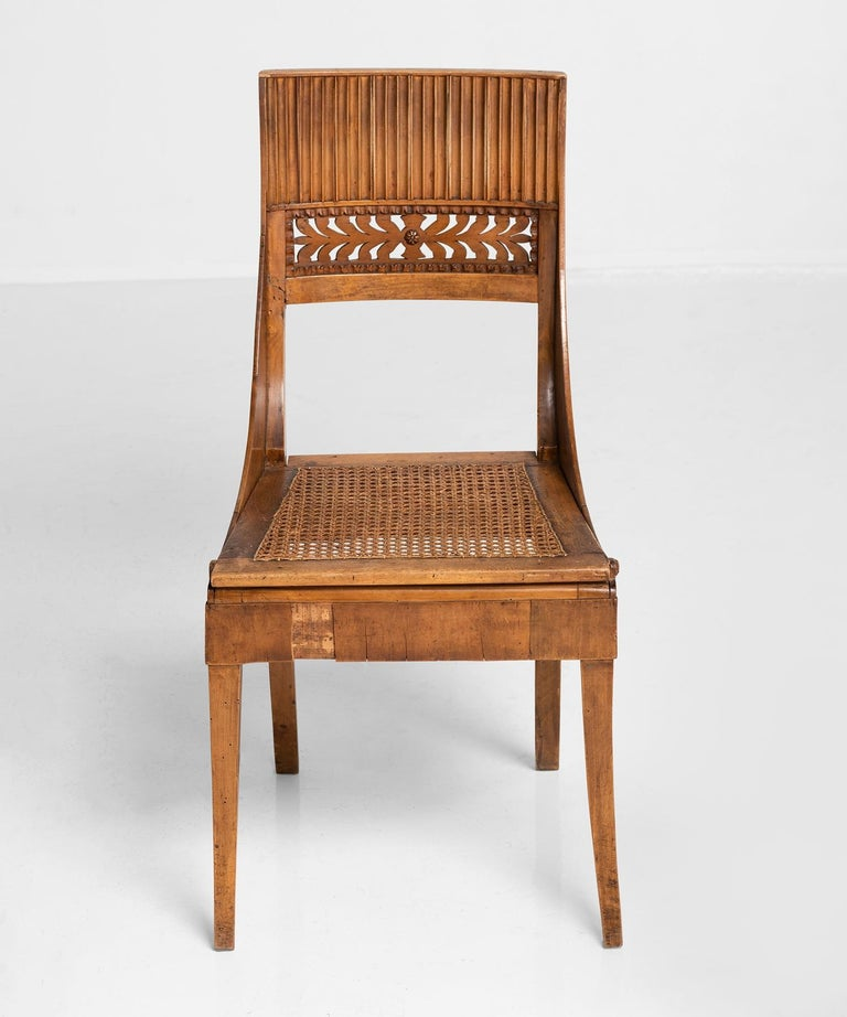 20th Century Set of '6' Empire Chairs For Sale