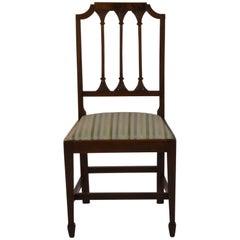 Set of 6 English Mahogany Chairs, circa 19th Century