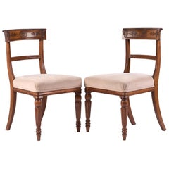 Set of 6 George IV Mahogany Dining Chairs in the Manner of Gillows