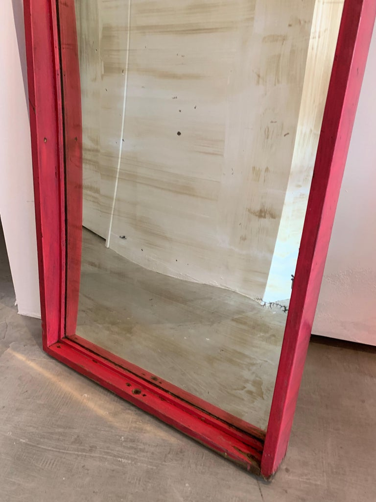 Set of 6 Glass Carnival Mirrors For Sale 6