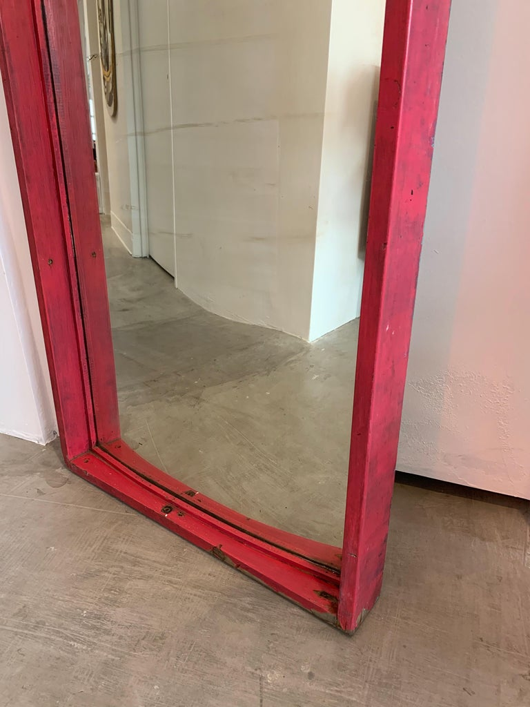 Set of 6 Glass Carnival Mirrors For Sale 7