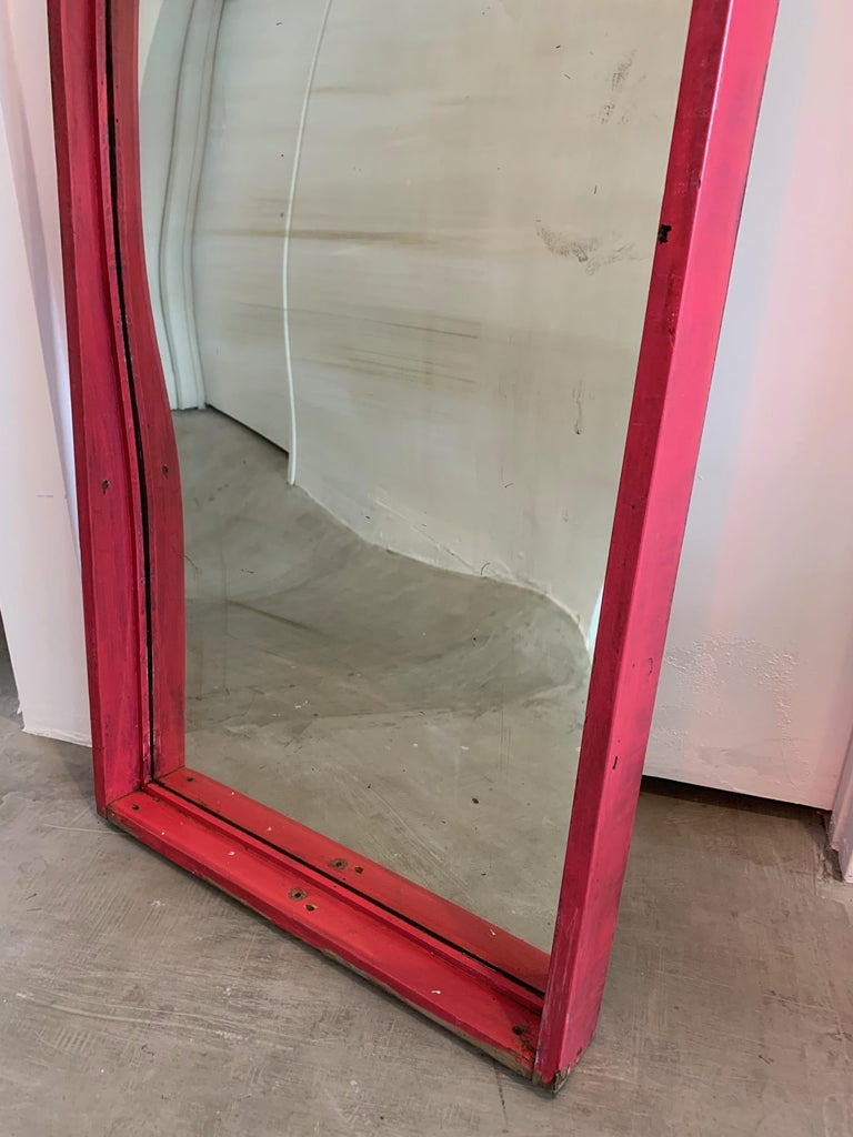 Set of 6 Glass Carnival Mirrors For Sale 10