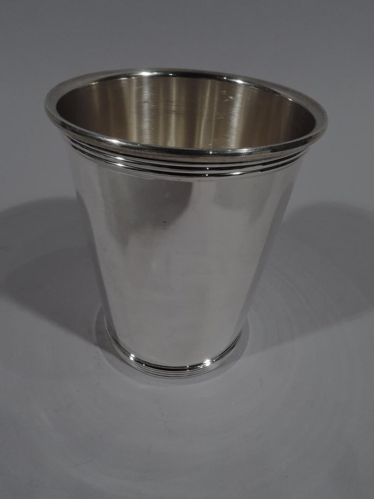 American Set of 6 Gorham Newport Sterling Silver Mint Julep Cups