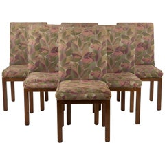 Set of 6 Iconic John Widdicomb Parsons Style Dining Chairs