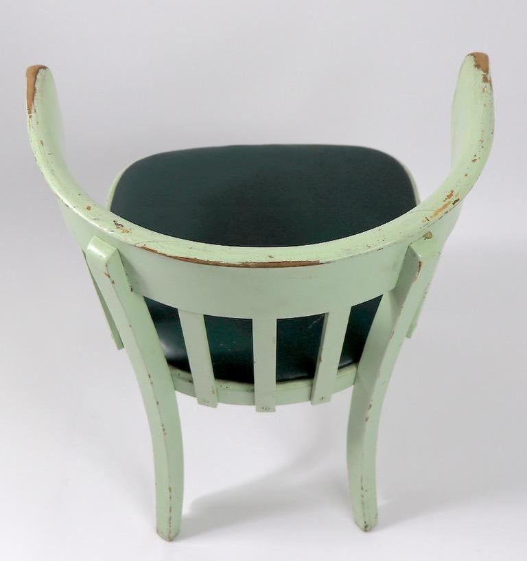 Set of 6 J J Kohn Mundus Cafe Dining Chairs For Sale 4
