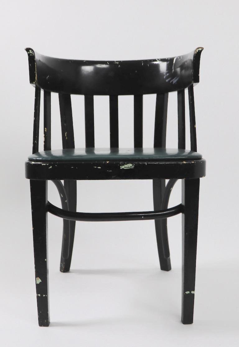 Set of 6 J J Kohn Mundus Cafe Dining Chairs For Sale 5