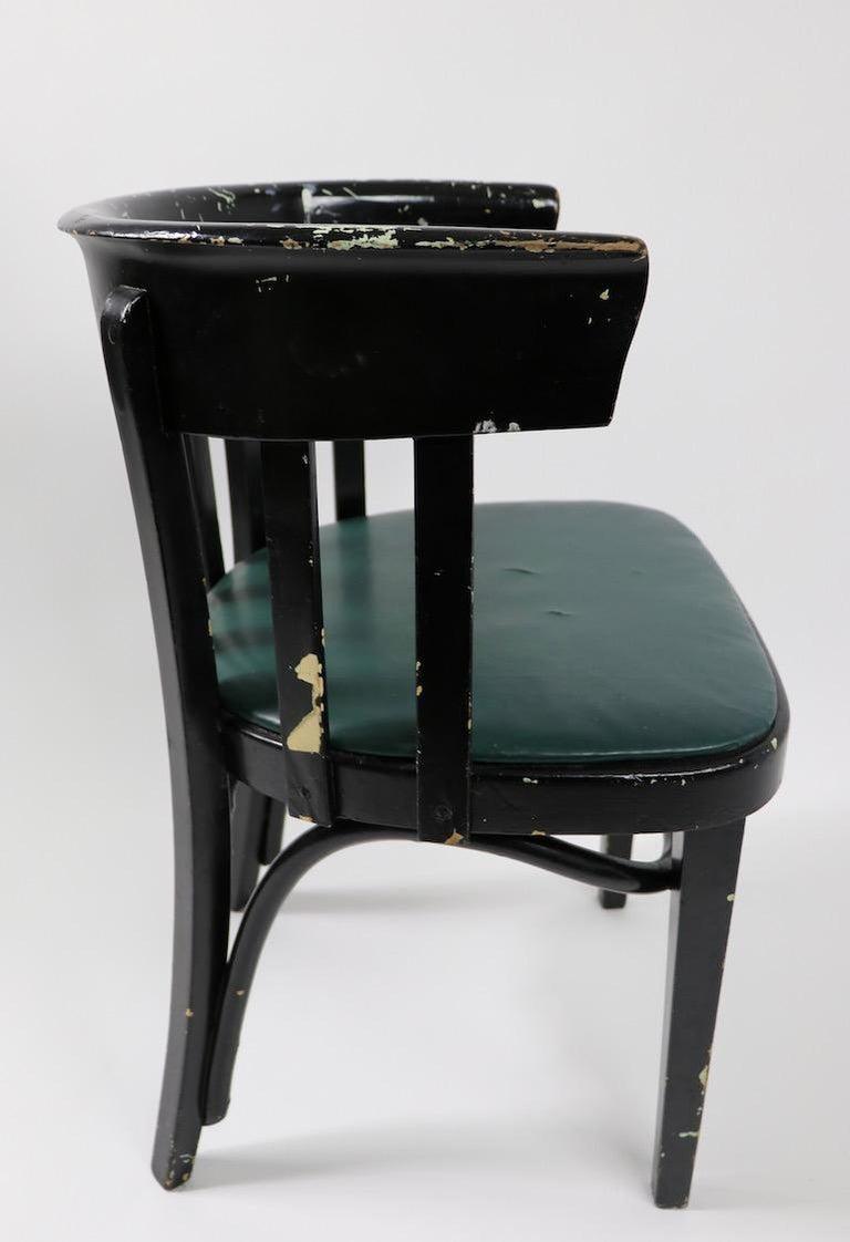 Set of 6 J J Kohn Mundus Cafe Dining Chairs For Sale 7