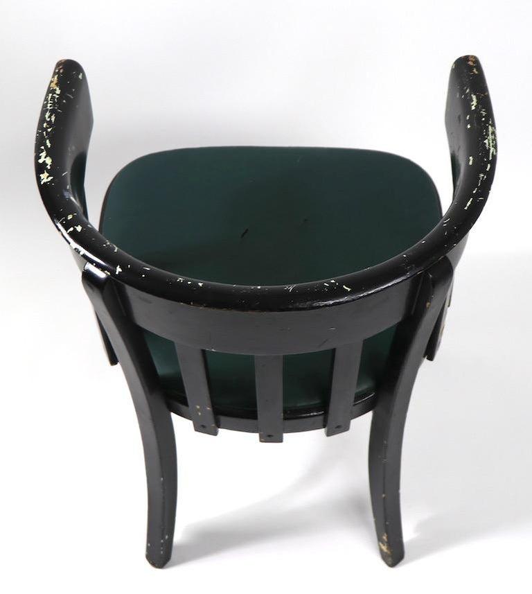 Set of 6 J J Kohn Mundus Cafe Dining Chairs For Sale 8