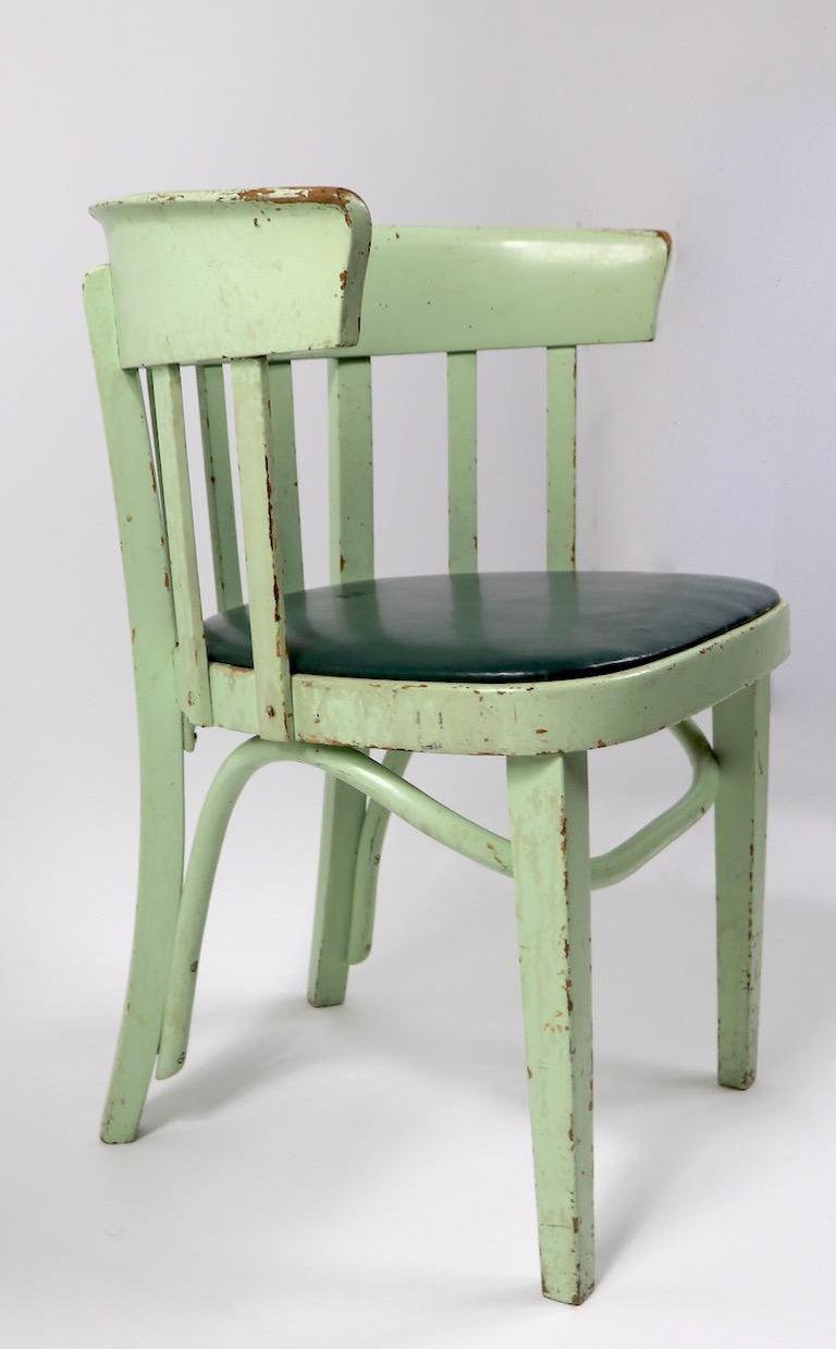 20th Century Set of 6 J J Kohn Mundus Cafe Dining Chairs For Sale