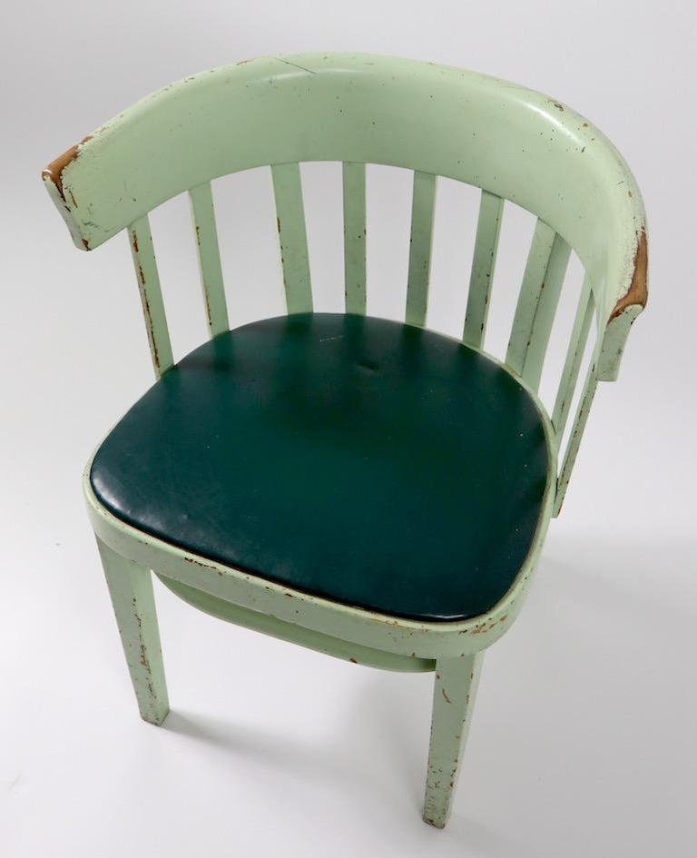 Set of 6 J J Kohn Mundus Cafe Dining Chairs For Sale 1