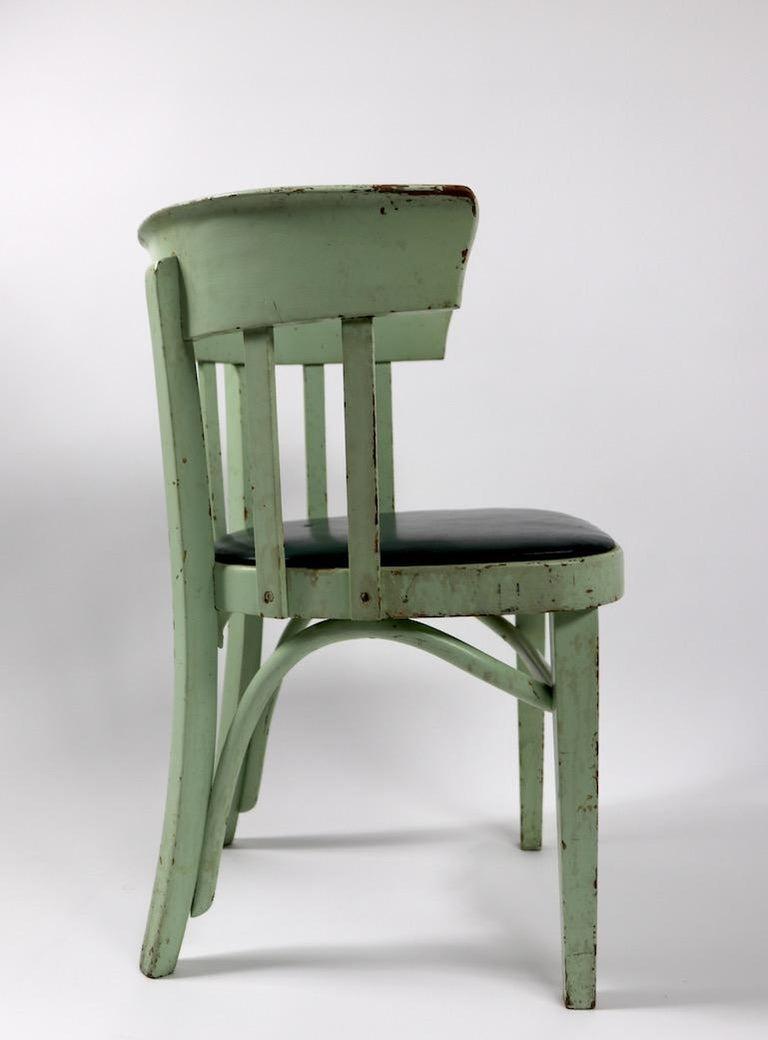 Set of 6 J J Kohn Mundus Cafe Dining Chairs For Sale 2
