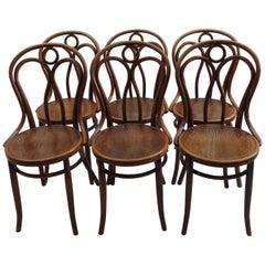 Set of 6 Jacob and Joseph Kohn, Austrian Dining Chairs No 36