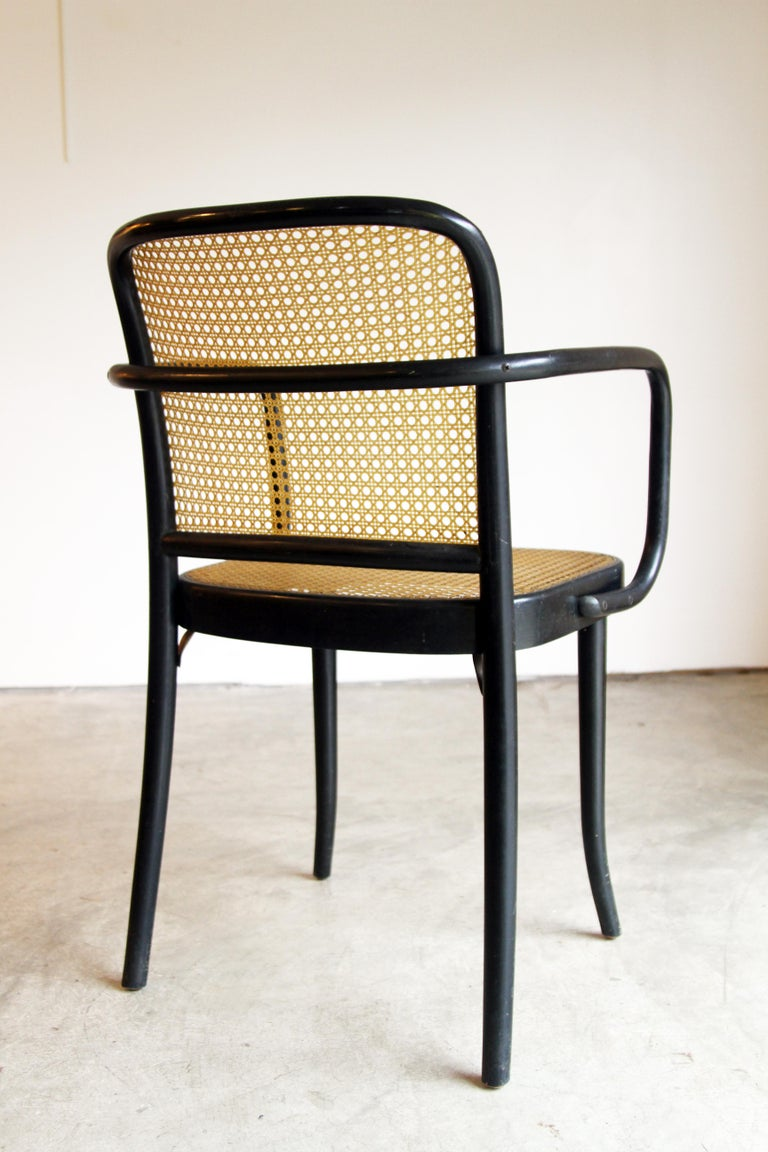 Set of 6 Josef Hoffman for Stendig Dining Chairs 1