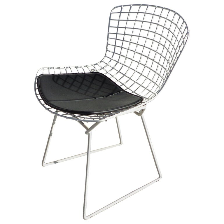 Set of 6 Knoll Bertoia Side Chairs For Sale