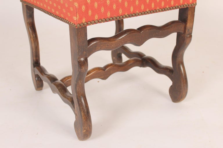 Set of 6 Louis XIV Style Dining Room Chairs For Sale 1