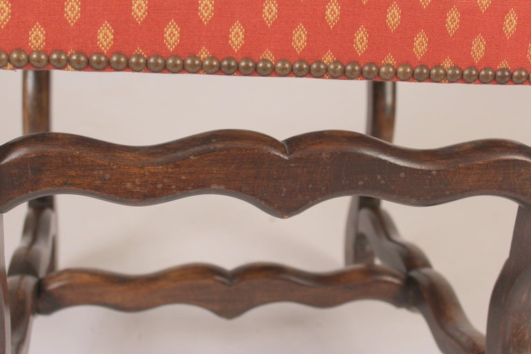 Set of 6 Louis XIV Style Dining Room Chairs For Sale 3