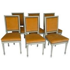 Set of 6 Louis XVI Chairs