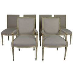 Set of 6 Louis XVl Dining Chairs