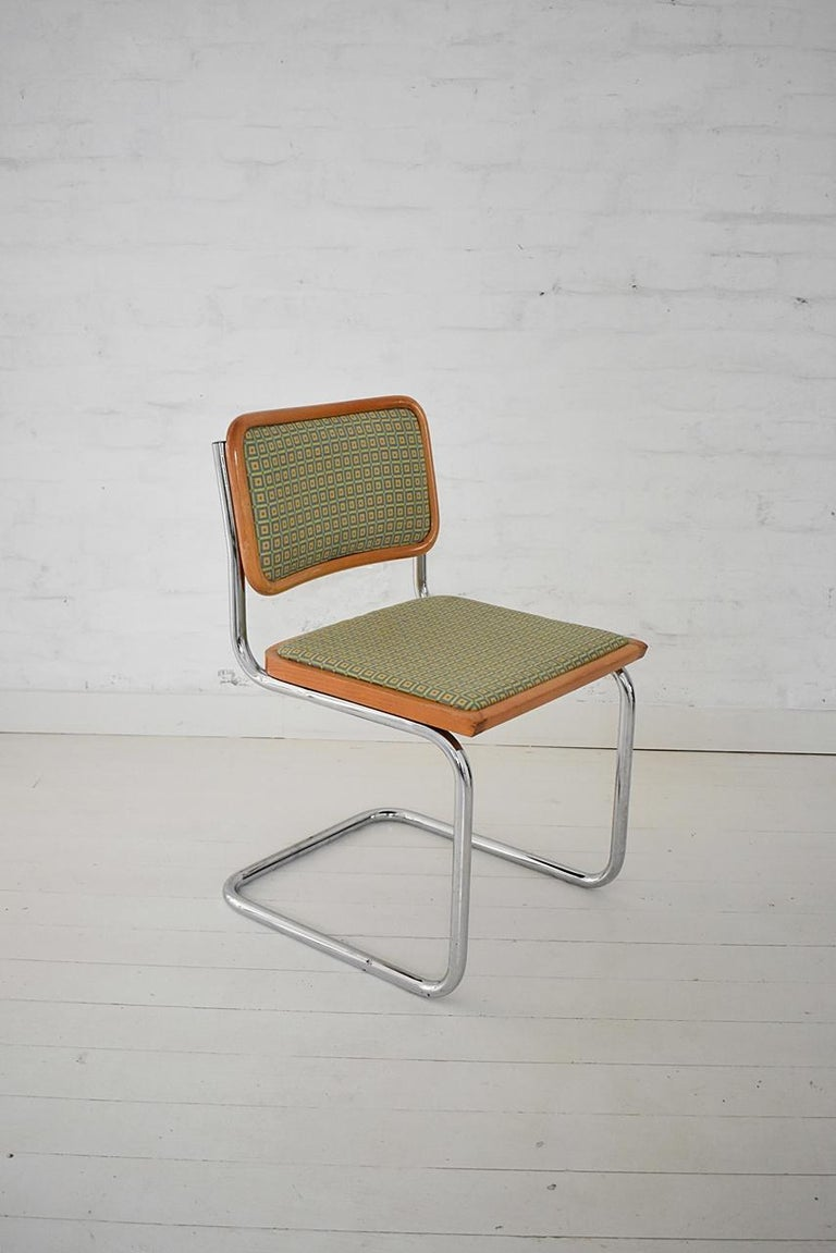 Bauhaus Set of 6 Marcel Breuer B32 Cesca Chairs by Bene, Austria, 1980s For Sale