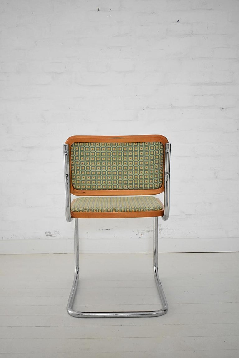 Set of 6 Marcel Breuer B32 Cesca Chairs by Bene, Austria, 1980s For Sale 1