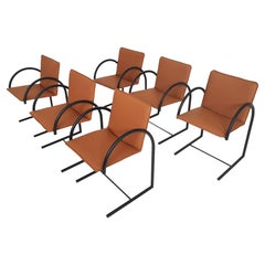 "Set of 6 Metaform ""Cirkel 1"" Dining Chairs by Karel Boonzaaijer&Pierre Mazairac"