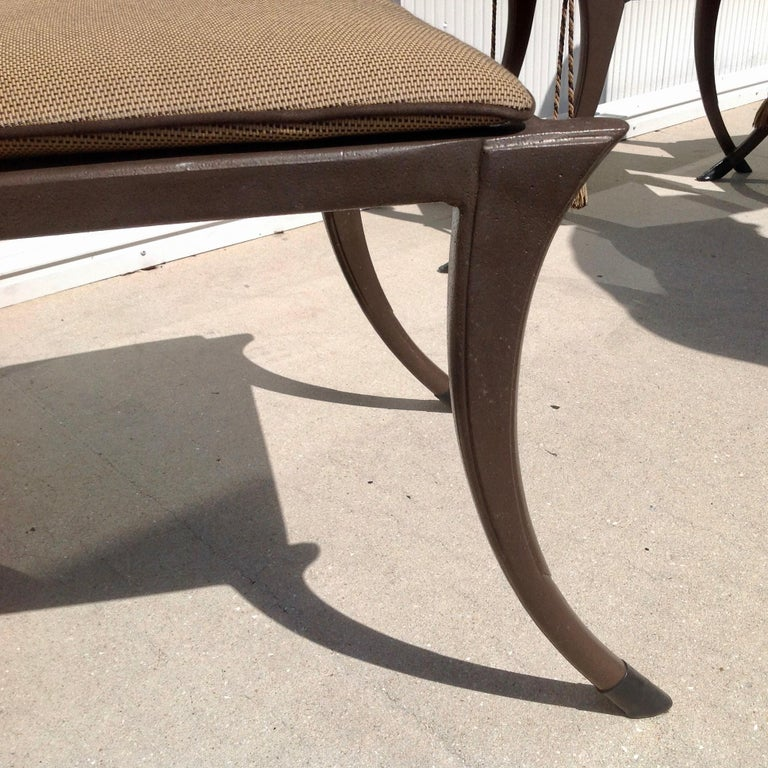 Set of 6 Michael Taylor Klismos Chairs For Sale 3
