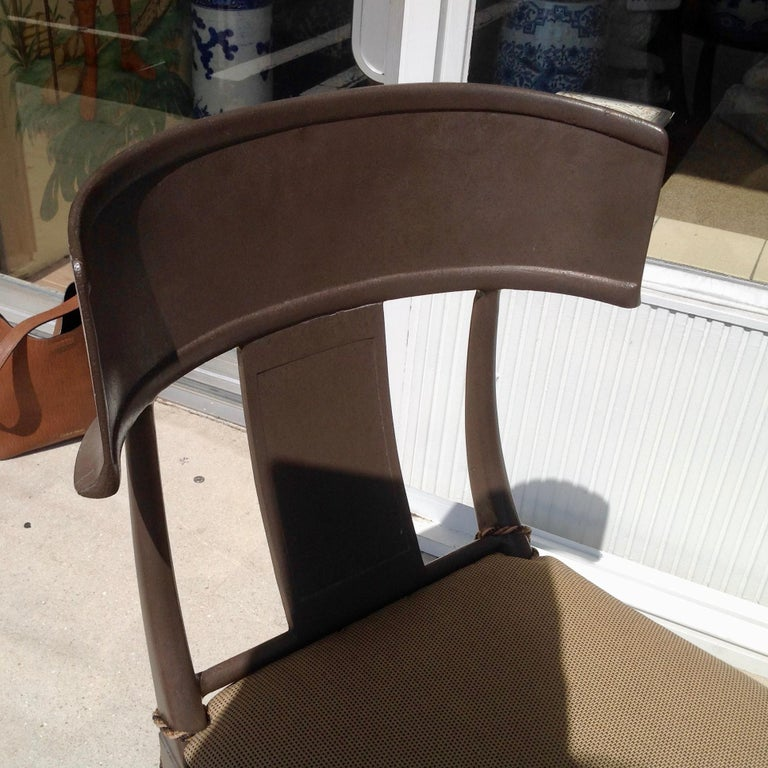 Set of 6 Michael Taylor Klismos Chairs For Sale 5