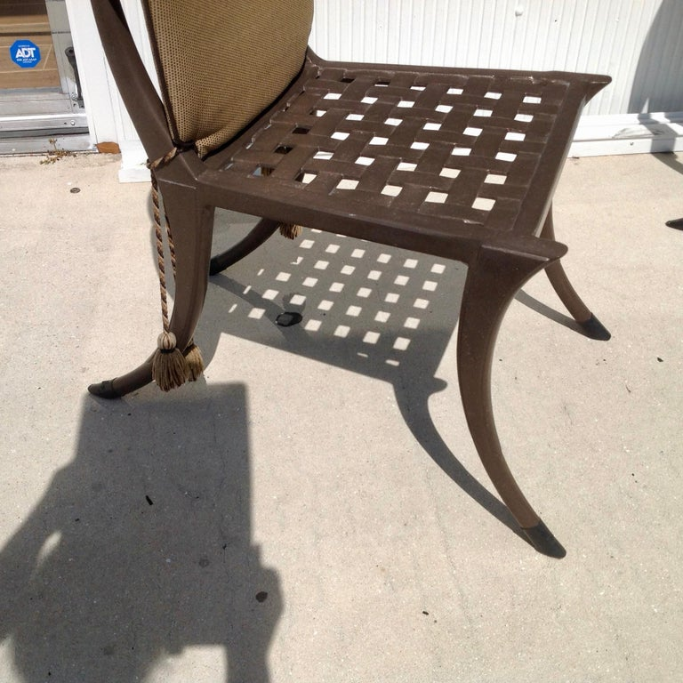 Set of 6 Michael Taylor Klismos Chairs For Sale 8