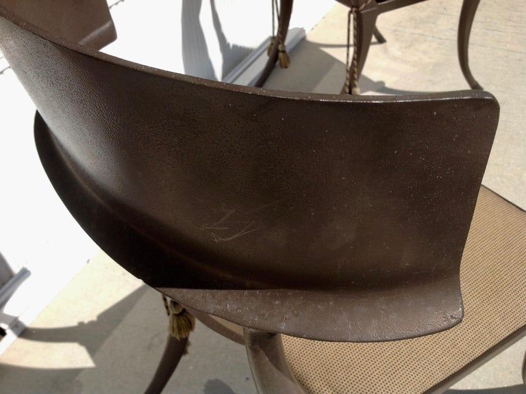 Set of 6 Michael Taylor Klismos Chairs For Sale 10