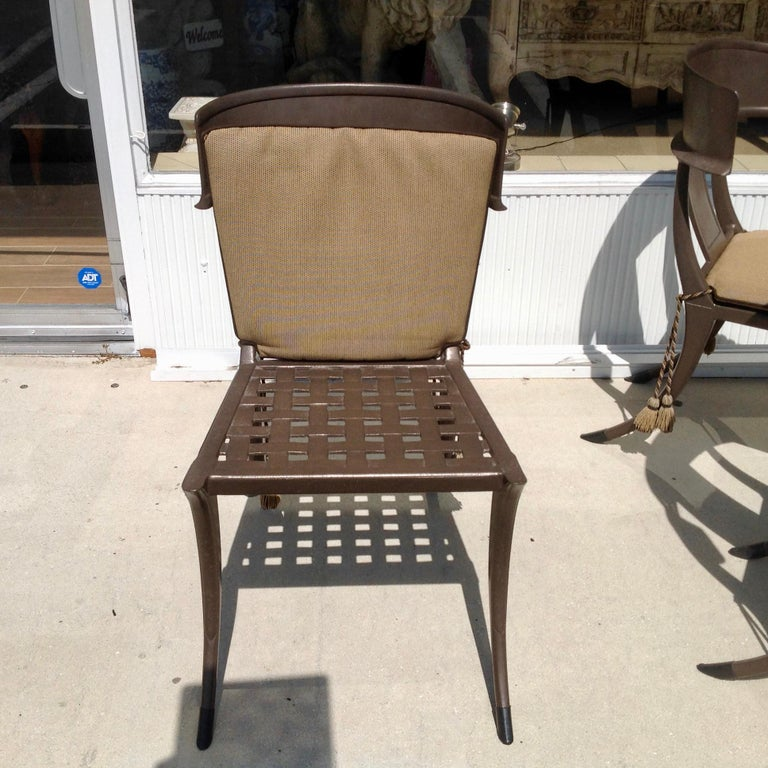 Set of 6 Michael Taylor Klismos Chairs For Sale 1