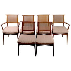 Set of 6 Mid Century Dining Chairs after McCobb