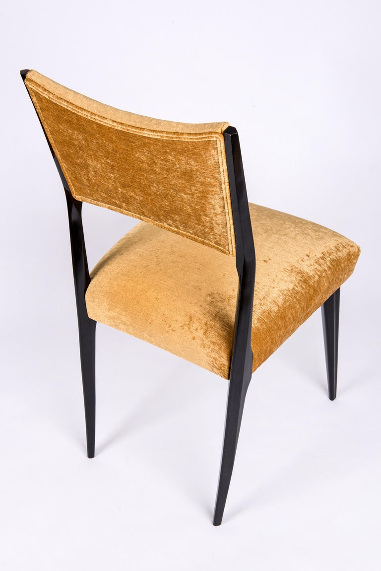 Set of 6 Midcentury Dining Chairs For Sale 2