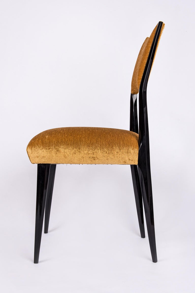 Set of 6 Midcentury Dining Chairs For Sale 6