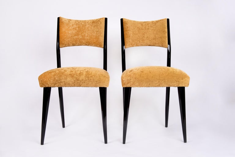 Mid-Century Modern Set of 6 Midcentury Dining Chairs For Sale