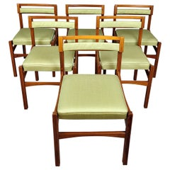 Set of 6 Midcentury Italian Chairs