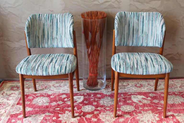 Set of 6 Midcentury Teak Arne Vodder for France & Daverkosen Dining Chairs 2