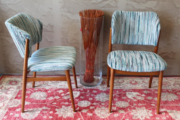 Set of 6 Midcentury Teak Arne Vodder for France & Daverkosen Dining Chairs 3