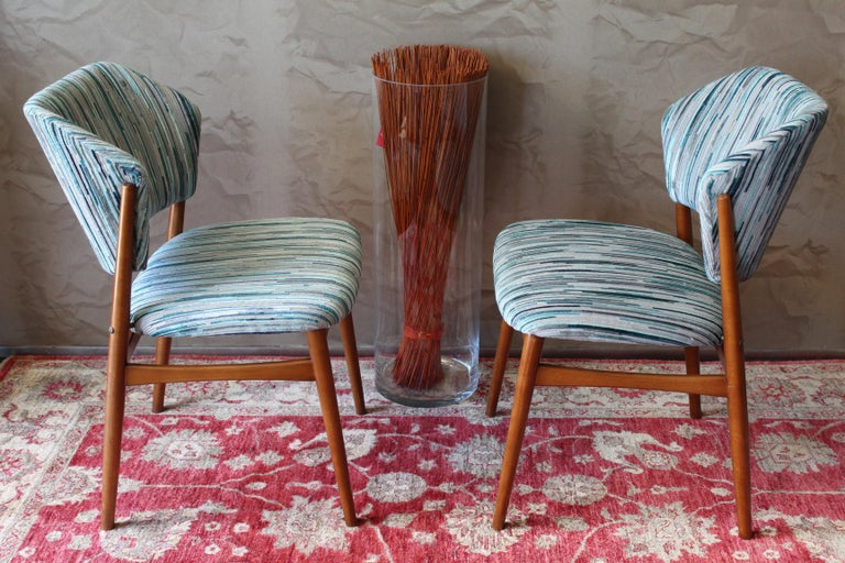 Set of 6 Midcentury Teak Arne Vodder for France & Daverkosen Dining Chairs 4
