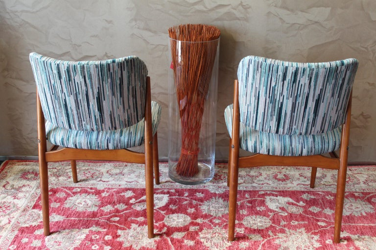 Set of 6 Midcentury Teak Arne Vodder for France & Daverkosen Dining Chairs 5