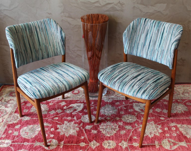 Set of 6 Midcentury Teak Arne Vodder for France & Daverkosen Dining Chairs 6