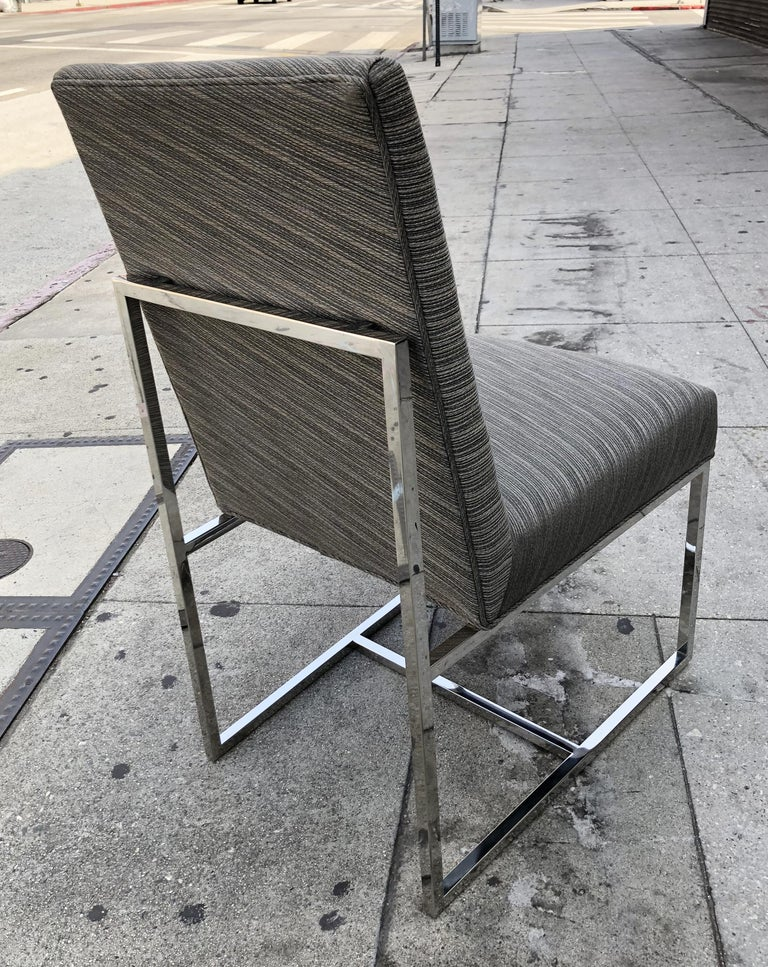 Set of 6 Modern Dining Chairs In Good Condition For Sale In Los Angeles, CA