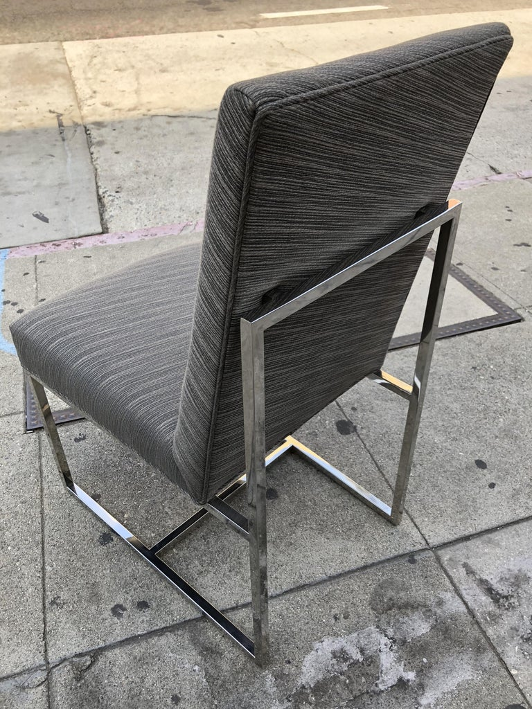 Set of 6 Modern Dining Chairs For Sale 2